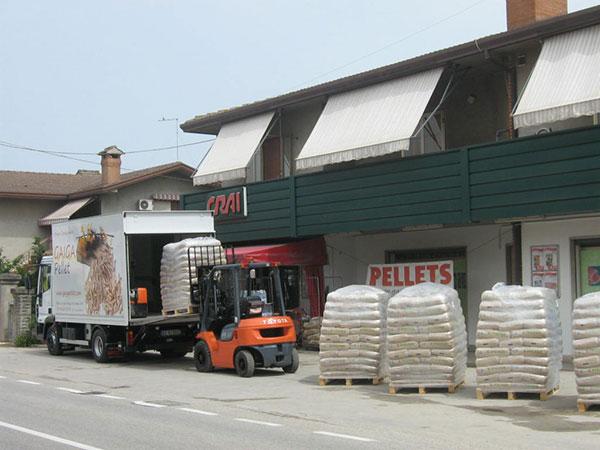 Vendita pellet lodi e provincia installazione climatizzatore for Impianto produzione pellet usato